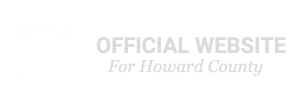 Official Website for Howard County logo